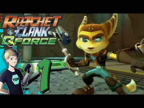 Ratchet & Clank Q-Force / Full Frontal Assault CO-OP - Part 1: I'VE NEVER PLAYED THIS!