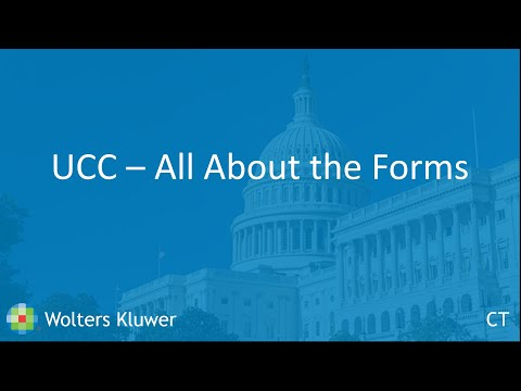 UCC - All About The Forms