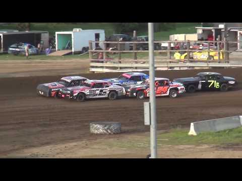 IMCA Hobby Stock Heat 2 Independence Motor Speedway 8/24/19