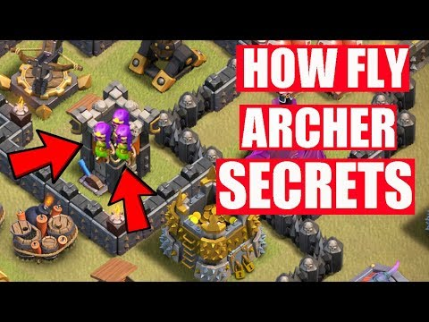 (HINDI) COC NEW SECRETS ARCHER FLYING IN AIR