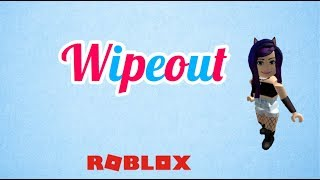 WIPEOUT!!! WET!!! (roblox wipeout obby)