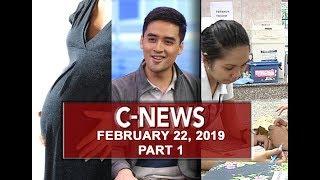 UNTV: C-News (February 22, 2019) PART 1