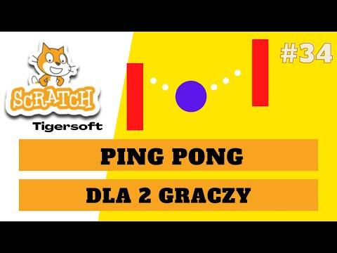 Ping Pong - tworzenie gry dla 2 osób w Scratch