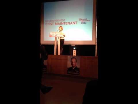 Visite de Martine Aubry au Maroc - présidentielles 2012