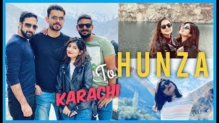 KARACHI to HUNZA via GILGIT! with DRONE FOOTAGE! | Anushae Says