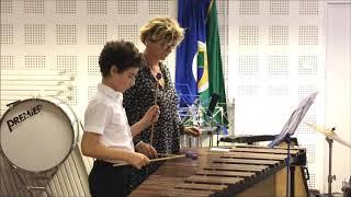 Marimba - Esti dal Fanninak (tanszaki előadás, ütő tanszék)