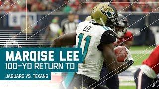 Marqise Lee's Electrifying 100-Yard Kick Return TD! | NFL Week 15 Highlights