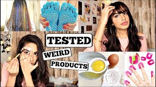 TRYING weird Beauty/Kitchen products from Yea3