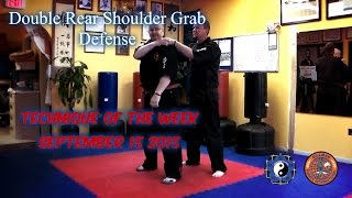 Penacook School Martial Arts/TOTW Double Shoulder Grab