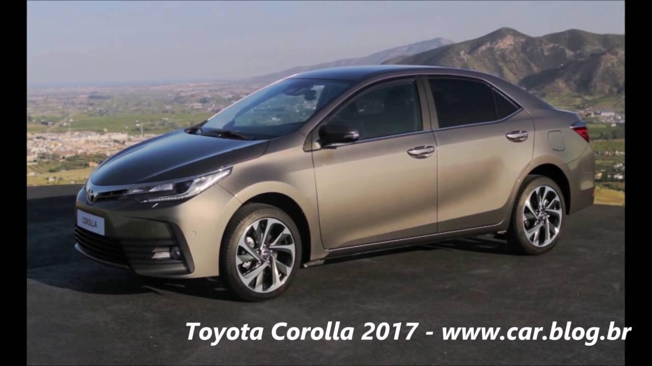 Novo Toyota Corolla 2017 Com Facelift Detalhes Www Car