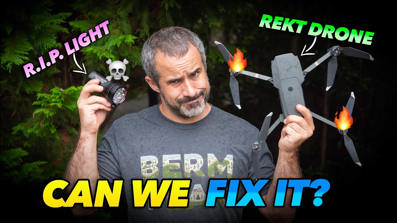 Download Bored? Watch a guy try to repair electronics