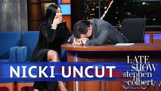Download UNCUT: The Nicki Minaj Interview With Stephen Colbert Mp3 and Videos