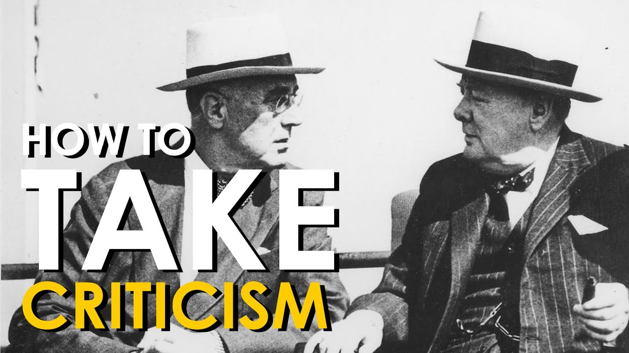 how to take negative criticism
