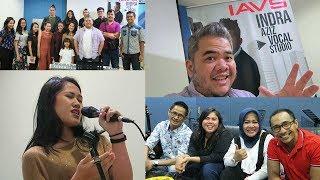 Les Vokal di Jakarta - Indra Aziz Vocal Studio