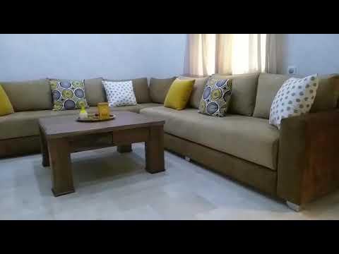 Salon style moderne facon et pose de rideaux meubles dècoration Bd lalla  Yacout centre commercial