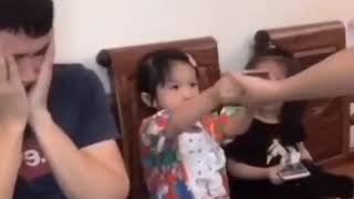 New cute baby funny video