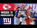 Chiefs vs. Giants |