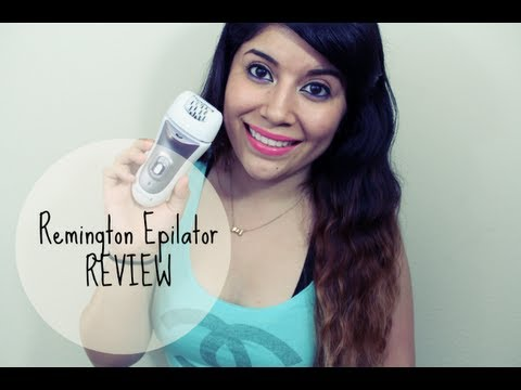 Remington Epilator Review - YouTube 990e522dfb