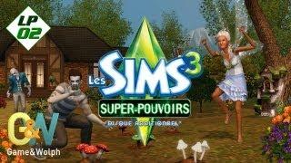 Les Sims 3 : Super Pouvoirs [LP-02] - Le concours de cuisine