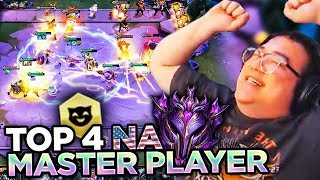 I HIT MASTERS - THIS IS HOW! (TOP 4 NA PLAYER) | Teamfight Tactics
