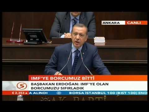 Recep Tayyip Erdogan Hatay Reyhanli Daki Saldiri IMF Ye Borcumuz Bitti ABD Ye Gidiyor-14.5.2013
