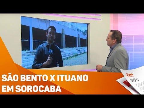 São Bento X Ituano em Sorocaba - TV SOROCABA/SBT