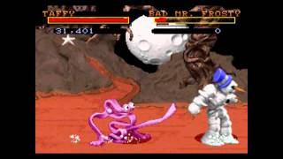 ClayFighter combo exhibition