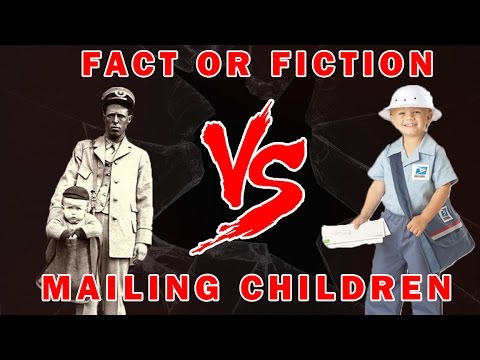 Stamp Collecting History  - Mailing Children Fact or Fiction