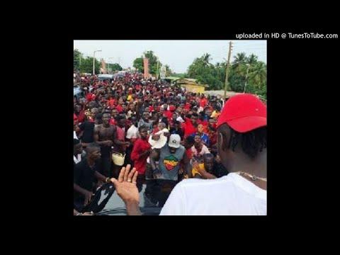 Massive crowd welcome Stonebwoy to Sogakope