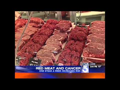 Red Meat Cancer Study