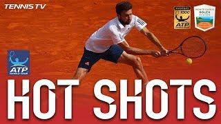 Hot Shot: Simon Stymies Djokovic In Monte-Carlo