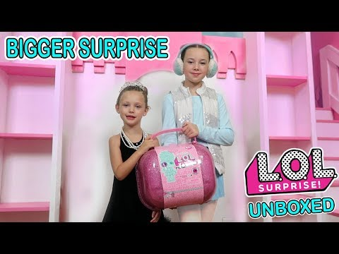 LOL Surprise Doll In Real Life LOL Bigger Surprise Scavenger Hunt 24 Hour Challenge Game Master