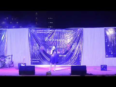 Prachi Chaudhary | Abhinandan 2k18 | Singing Night | CONVEX | SVNIT