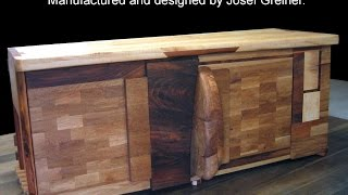 Sideboard From Reclaimed Wood