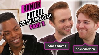 Shane Dawson REACTS To Tana's Wedding + Ryland Wants Small Ceremony! (Rumor Patrol: Celeb Takeover)