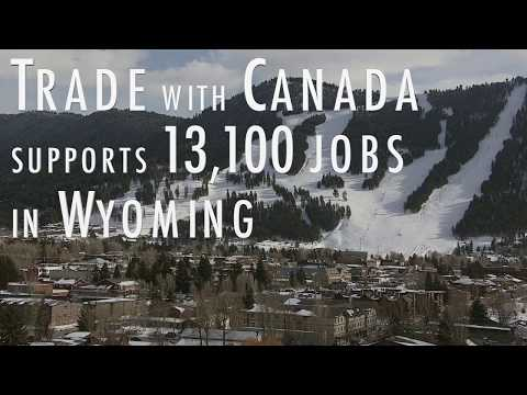 Canada & Wyoming Trade in 64 Seconds