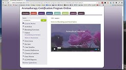 Online Aromatherapy Certification Program