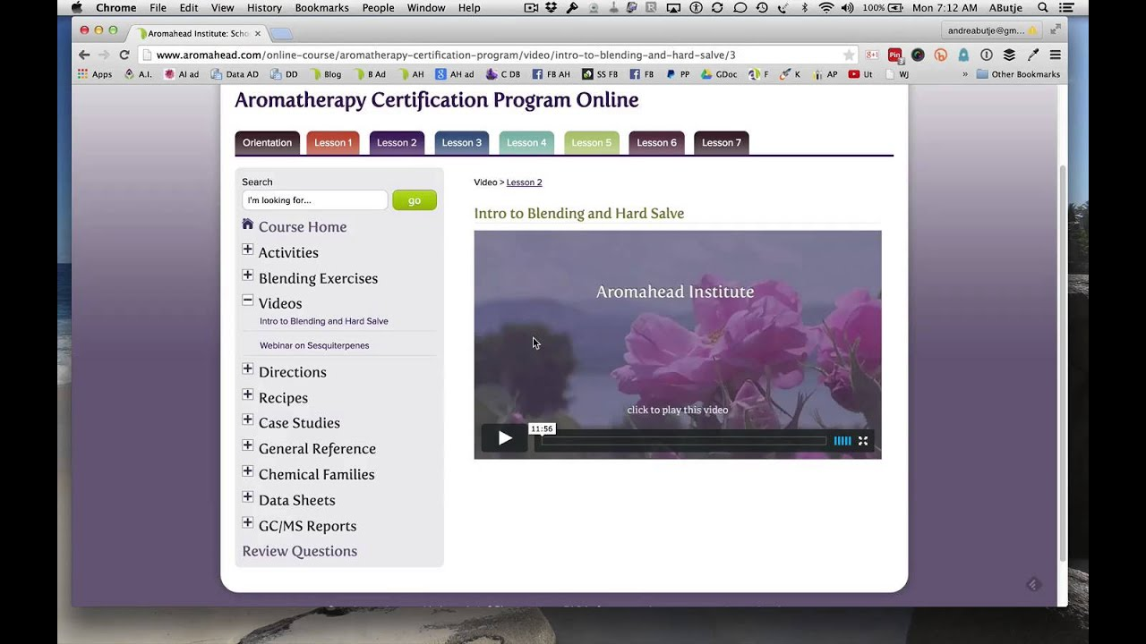 Online Aromatherapy Certification Program Youtube