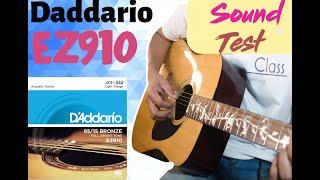 D ADDARIO EZ910  STRINGS REVIEW  SOUND TEST COMPARISON  COVER CLASS 