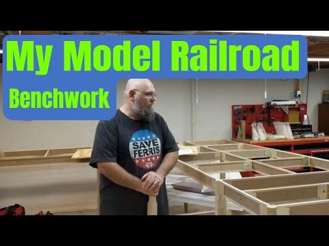 My Model Railroad - Benchwork
