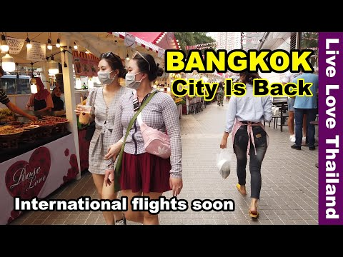 Bangkok city is back | International flights soon #livelovethailand