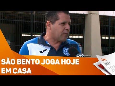 São Bento joga hoje em casa - TV SOROCABA/SBT