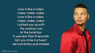 Like a rodeo - Kane Brown (lyrics) 🎵