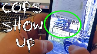 Strange Pickup TRUCK Shows Up To Jody's House (COPS CALLED) 2021#15
