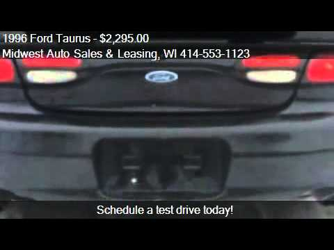 1996 Ford Taurus SHO - for sale in Milwaukee, WI 53210