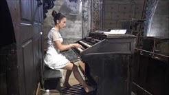 Liszt's Sonata by Lydie Solomon on the organ - HD