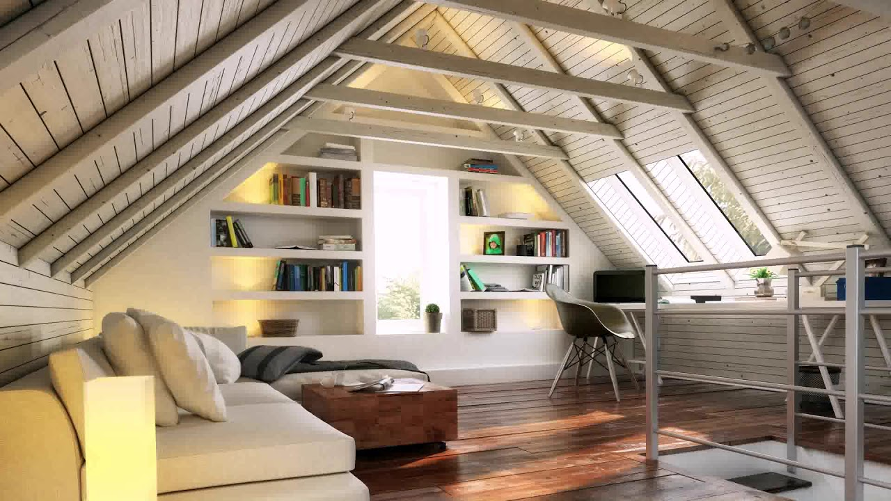 loft conversion low roof pitch - youtube