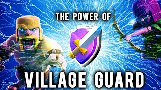 The Power of Village Guard | Clash of Clans