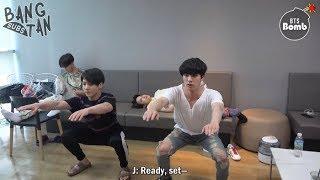 [ENG] 180928 [BANGTAN BOMB] JK & JIN's exercise time - BTS (방탄소년단)