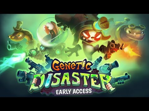 Genetic Disaster - Early Access - Gameplay walkthrough